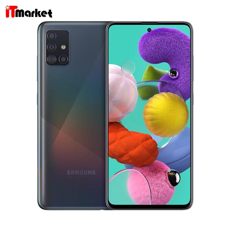 گوشی موبایل سامسونگ Samsung Galaxy A51 ظرفیت 128 / 64 گیگابایت رم 8 / 6 گیگابایت