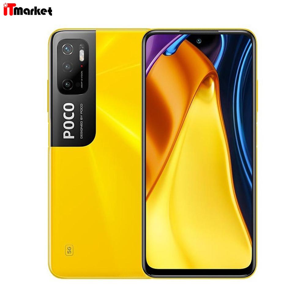 گوشی موبایل شیائومی Poco M3 Pro 5G ظرفیت 128 گیگابایت رم 6 گیگابایت