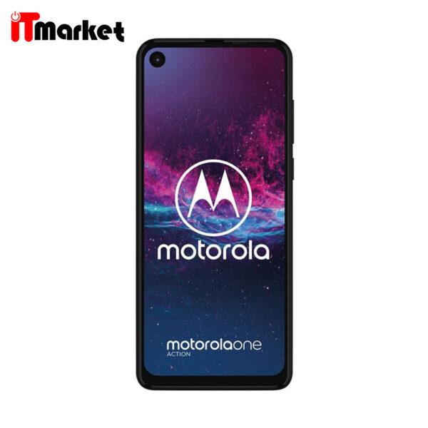 گوشی موبایل موتورولا مدل Moto One Action دو سیم کارت ظرفیت 128/4 گیگابایت