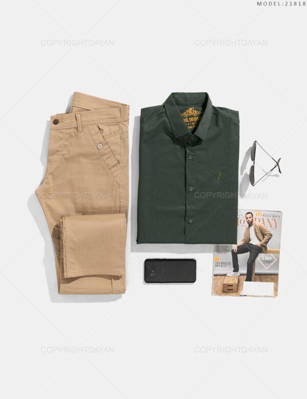 پیراهن مردانه Zima مدل 21818
