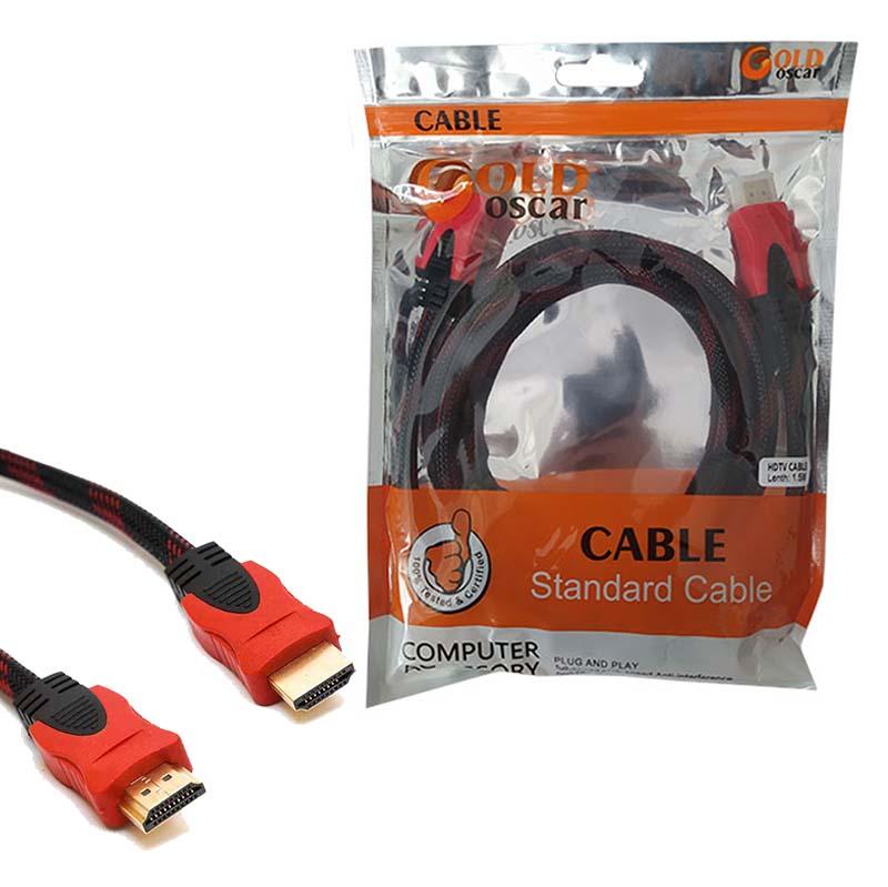 کابل 1.5 متری HDMI کنفی اسکار گلد Oscar Gold
