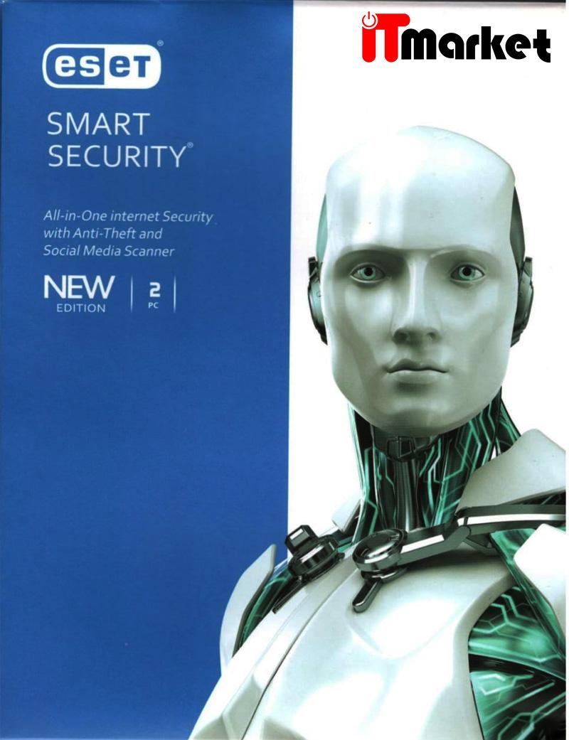 آنتی ویروس ایست اسمارت سکیوریتی دو کاربره – Eset Smart Security 2 Pc
