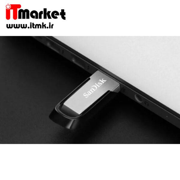 فلش مموری سن دیسک مدل Ultra Flair CZ73 ظرفیت 64 گیگابایت