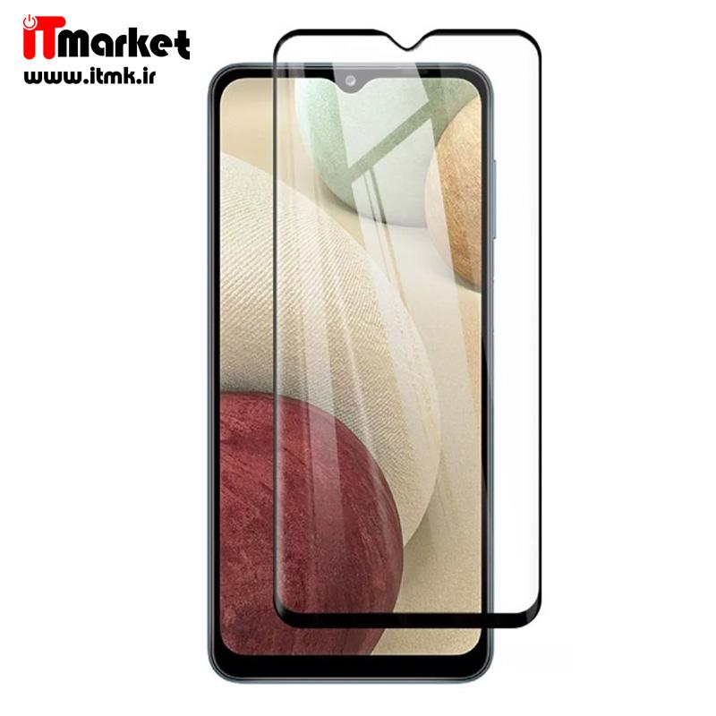 گلس تمام صفحه سرامیکی مناسب برای گوشی موبایل Samsung Galaxy A12